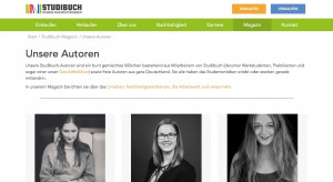 Website Studienbuch