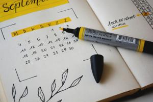 Zeitmanagement Kalender